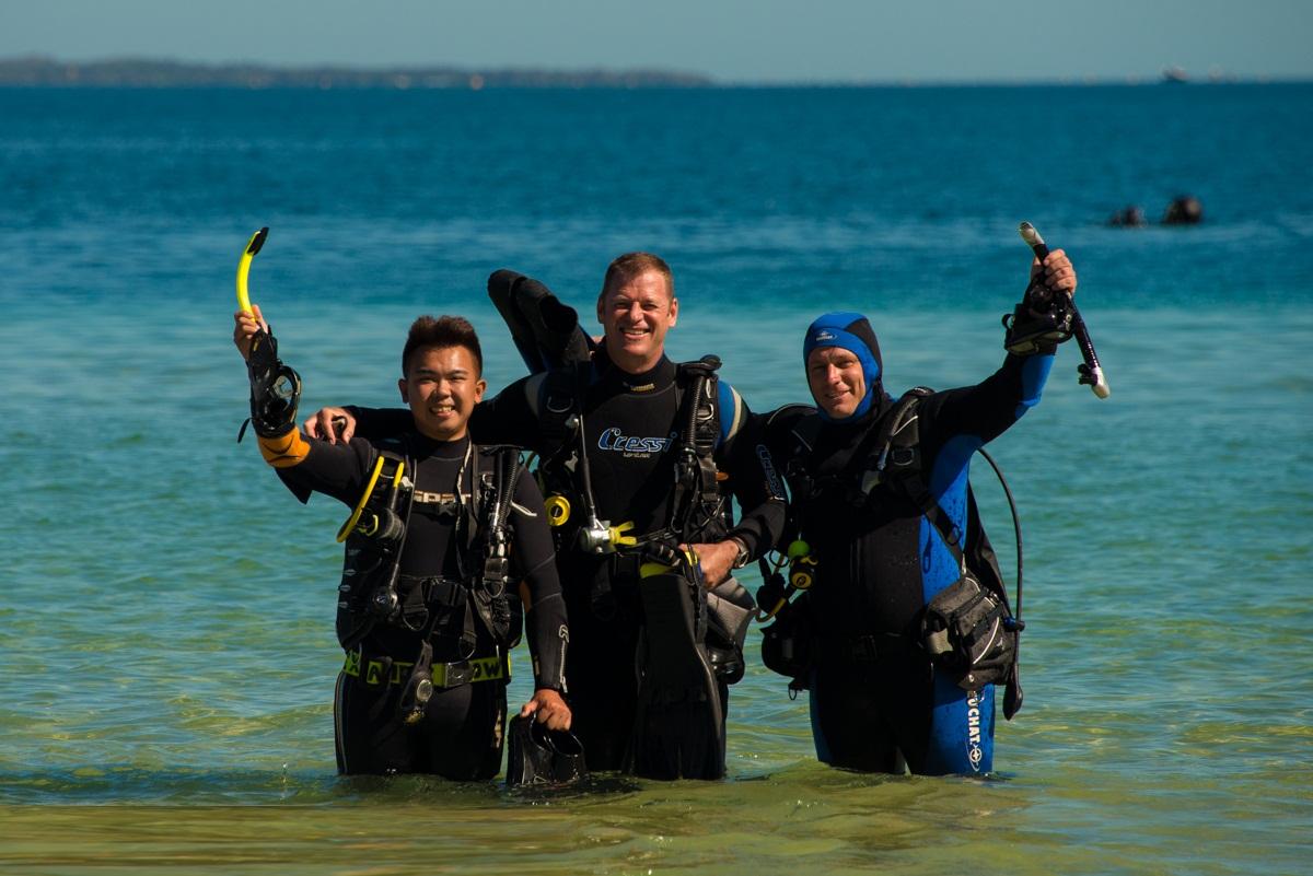 Master Scuba Diver Trainer